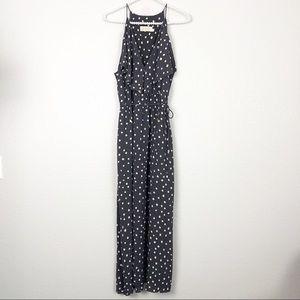 Zimmermann Maxi Dress Gray Confetti Dots sz 8